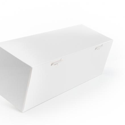 ProBox Buche 50x14 Wit+Verniste Structuren