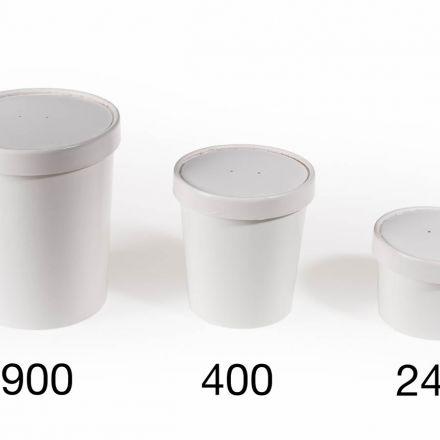 Deksels Foodcup - 240