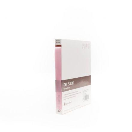 Zijdelint 15mm/100m Pink