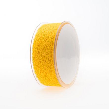 Lint honeycomb 38mm/20m Geel