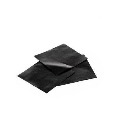 Tussenleggers Kristalpapier Zwart 73x73mm