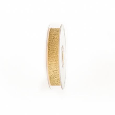 Lint 15mm/20m Chevron Gold