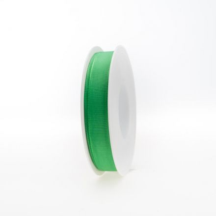 Zijdelint 15mm/100m Grass Green