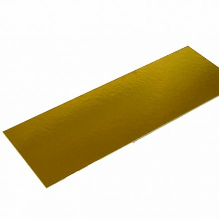 Karton 235x95mm Goud