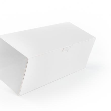 ProBox Buche 30x14 Wit+Verniste Structuren