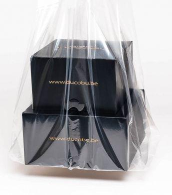 Shopping Bag Plastic Semi-Transparant