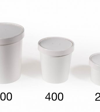 Deksel Foodcup - 400