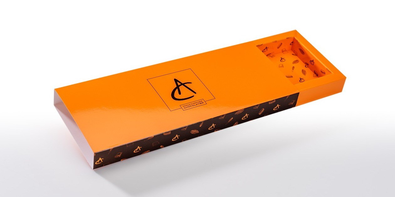 SleeveBox chocolade pralines Arnaud Champagne