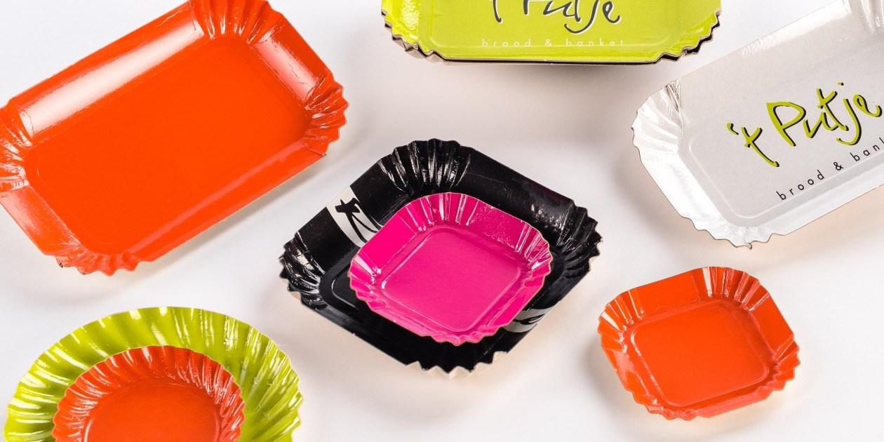 Mini borden gebakje