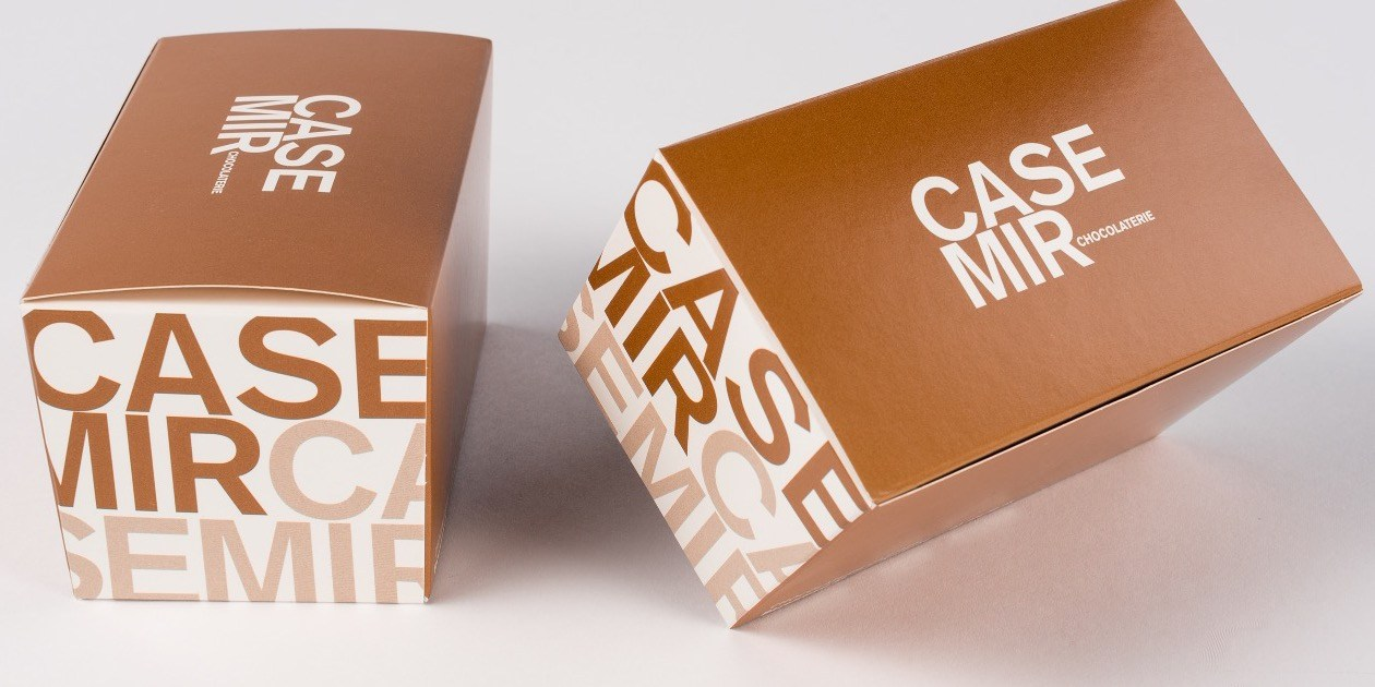 Ballotin chocolade Gruyaert Verpakking Pralines Casemir