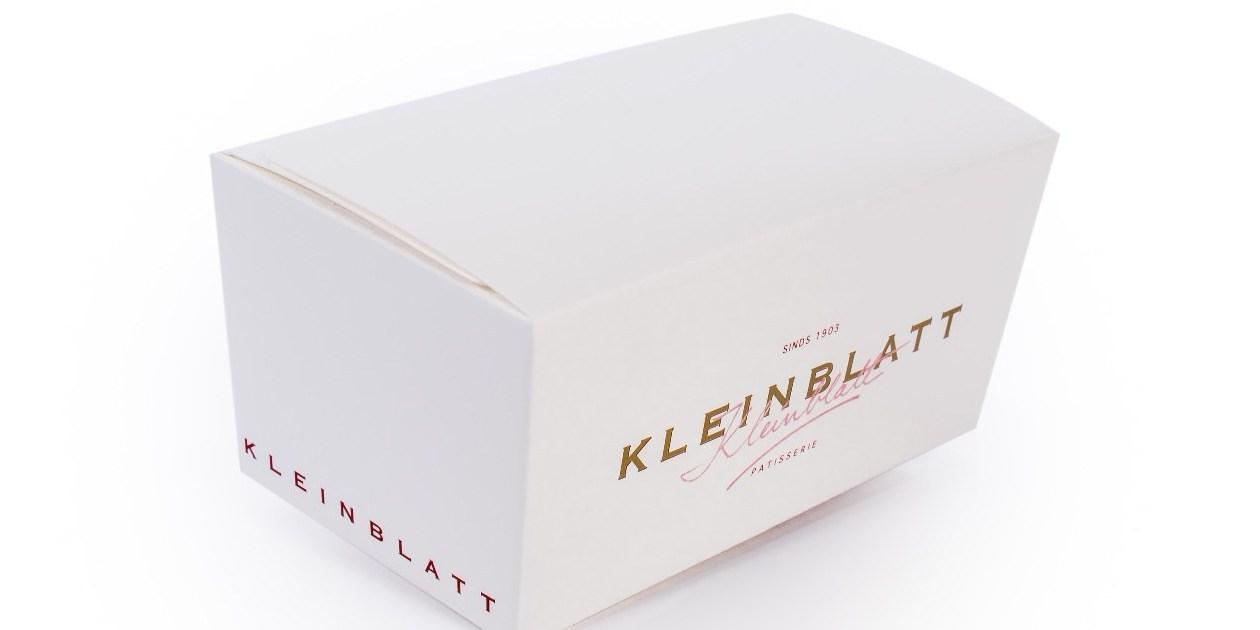 Ballotin chocolade Gruyaert Verpakking Praline Kleinblatt