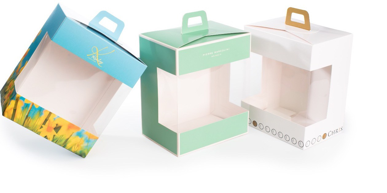 VistaBox gepersonaliseerd Gruyaert Verpakking Pierre Marcolini