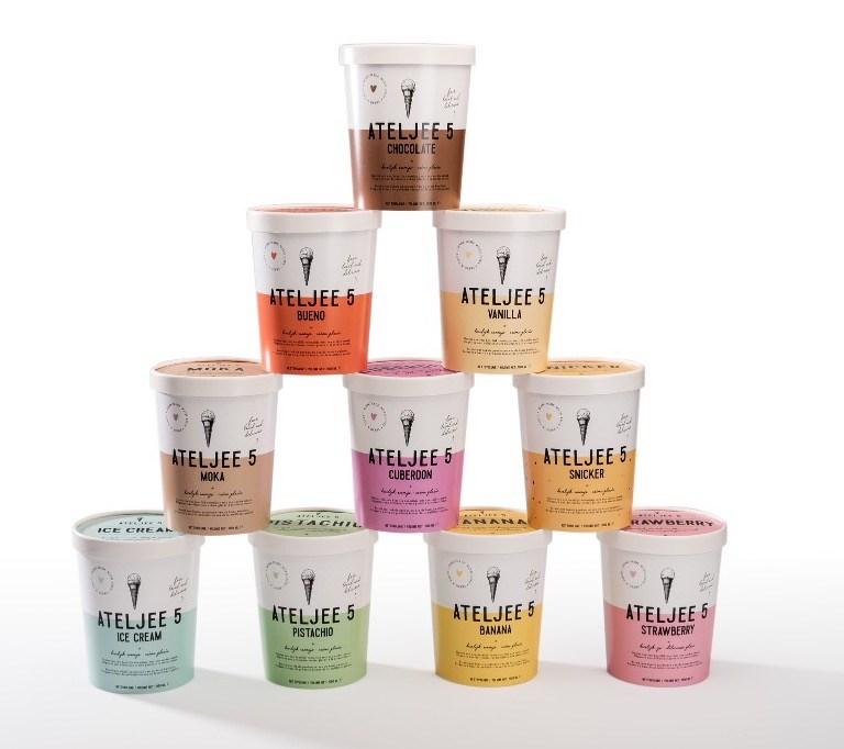 Ijs schepijs icecream packaging