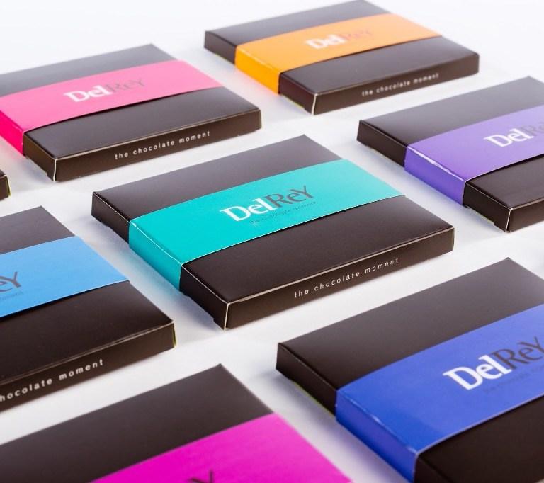 Tabletdoosje chocolade tablet DelRey Antwerpen